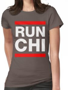 RUN CHI Womens Fitted T-Shirt