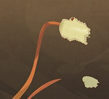 Rawness of Life - Tulip Illustration  by Shante Barr