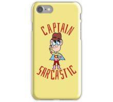 Captain Sarcastic iPhone Case/Skin