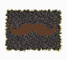 Mustache on leopard skin Kids Clothes