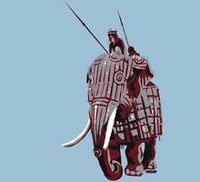 Elephant Riders Unisex T-Shirt