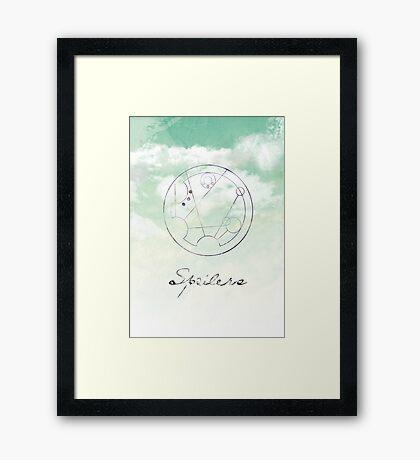 Spoilers Framed Print