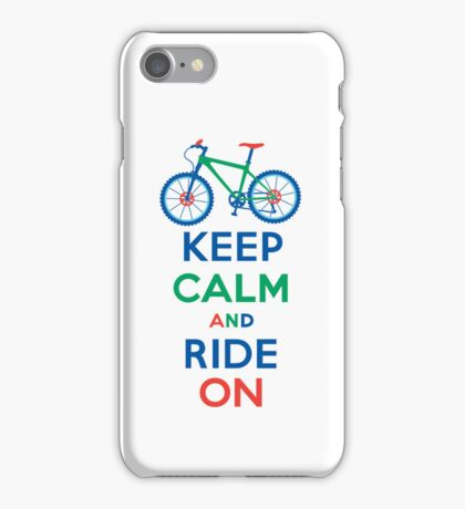 Keep Calm and Ride On multi 3G  4G  4s cases iPhone Case/Skin