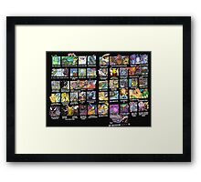 Super Effective - Complete Framed Print
