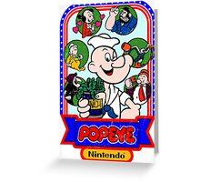 Popeye-Cade Greeting Card