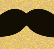 Funny Mustache Sticker