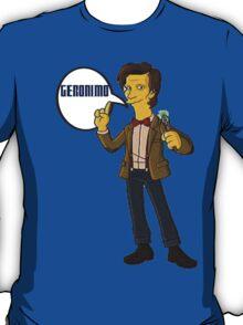 Doctor Who Geronimo The Simpsons T-Shirt