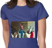 Dearie Me , What's A Gal To Wear........ Womens Fitted T-Shirt