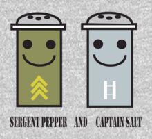 Sergent pepper & captain salt by curiedi