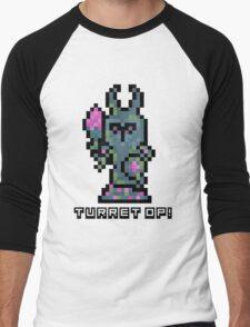 Pixel Tower Men's Baseball ¾ T-Shirt