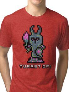 Pixel Tower Tri-blend T-Shirt