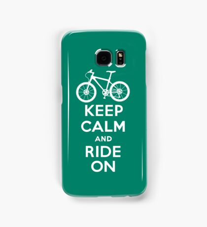 Keep Calm and Ride On  green  3G  4G  4s iPhone case  Samsung Galaxy Case/Skin