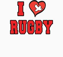 I Love Rugby Womens Fitted T-Shirt