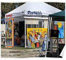 Road Show Tent Poster