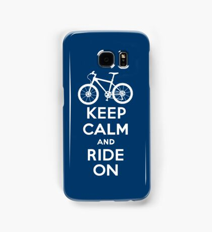 Keep Calm and Ride On  navy  3G  4G  4s iPhone case  Samsung Galaxy Case/Skin