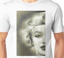 Marilyn Faceoff by Mary Bassett Unisex T-Shirt
