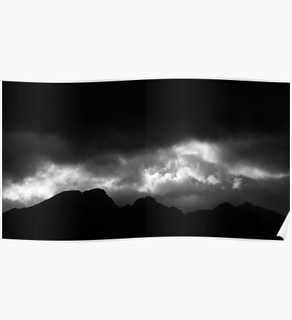 The dark Cuillin Poster