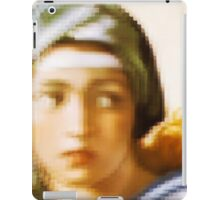 Sibilla, Michelangelo, Woman, Colours, Face, Hair iPad Case/Skin