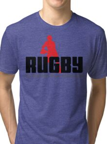 "Rugby ""No Winners Only Suvivors"" Tri-blend T-Shirt"