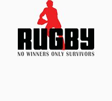 "Rugby ""No Winners Only Suvivors"" Unisex T-Shirt"