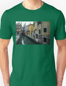 Venice, Italy - Charming Bridges and Fabulous Distinctive Chimneys T-Shirt