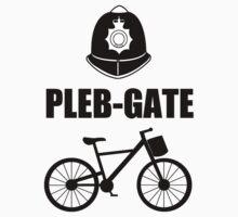 PLEB-GATE (black) T Shirt by Fangpunk