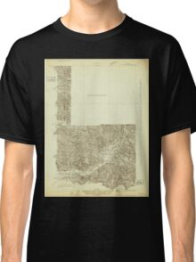 USGS Topo Map Washington State WA Mt Rainier 242668 1924 96000 Classic T-Shirt