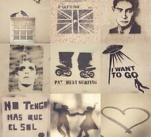 Palermo stencils collage  by Andreka