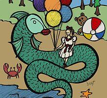 Teddy Bear And Bunny - The Seduction by Brett Gilbert