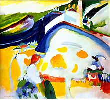 Kandinsky 1910, The Cow Photographic Print