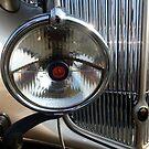 1937 Packard-Super 8 ~ Road Light by Elaine Bawden