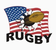 USA Rugby by SportsT-Shirts