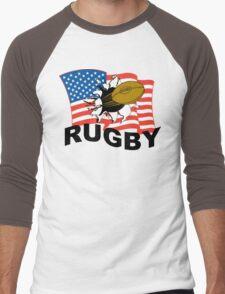 USA Rugby Men's Baseball ¾ T-Shirt