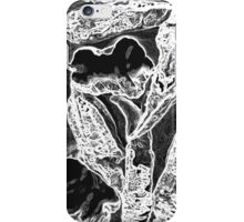 Black and White Peppers iPhone Case/Skin