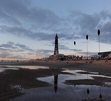 Blackpool Tower by neon-gobi