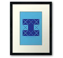 Design 210 Framed Print