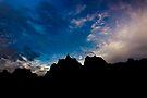 Sunrise over Badlands Door Trail by Alex Preiss