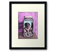 The memory remains -- ORIGINAL SOLD Framed Print