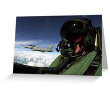 pilot. Greeting Card