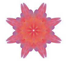 Fractal Flower 002 Photographic Print