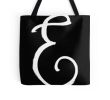 The Letter E Tote Bag