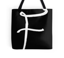 The Letter F Tote Bag