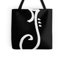 The Letter J Tote Bag