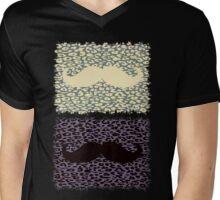 Funny Mustache Mens V-Neck T-Shirt