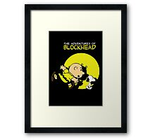 The Adventures of Blockhead Framed Print