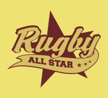 Retro Rugby Kids Tee