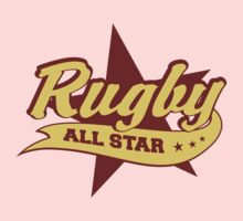 Retro Rugby Baby Tee