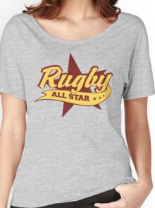 Retro Rugby Women's Relaxed Fit T-Shirt