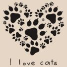 I love cats (I) by neizan