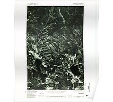 USGS Topo Map Washington State WA Newman Lake 242808 1978 24000 Poster